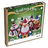 Arenart | Pack 5 Conos Árbol de Navidad | para Pintar con Arenas de Colores | Manualidades Infantiles | Decoración Navideña en Familia | +6 años