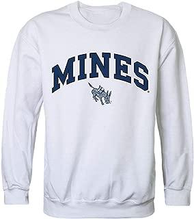 Colorado School of Mines Campus Crewneck Pullover Sweatshirt Sweater White