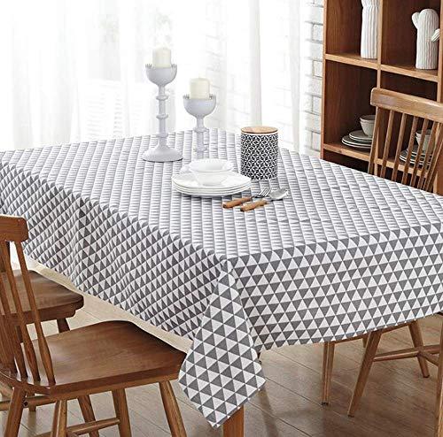 Accesorios para sala de estar Mantel en blanco y negro Mesa de centro de tela minimalista para el hogar moderno gris (Color: D Tamaño: 140 * 250 cm)