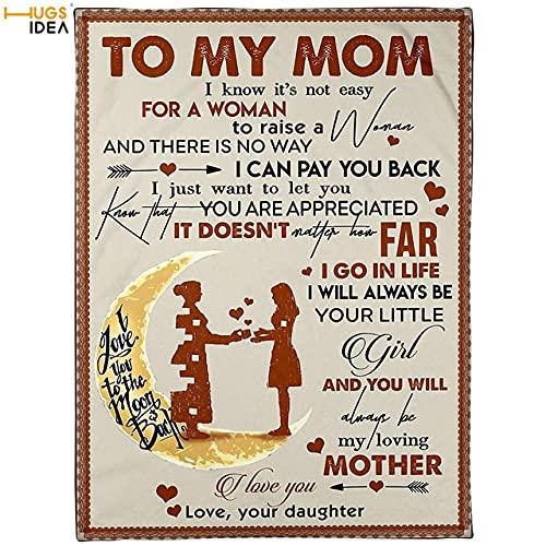 Una Carta a mi mamá Patrón de vellón anket Ropa de Cama para el hogar Revestimiento Sofá Sofá Aire Acondicionado Edredón Delgado Niños ankets-HMCA524Z88, L-114x152cm