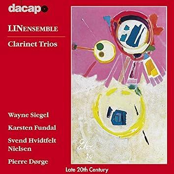 Dorge / Fundal / Nielsen / Siegel: Clarinet Trios