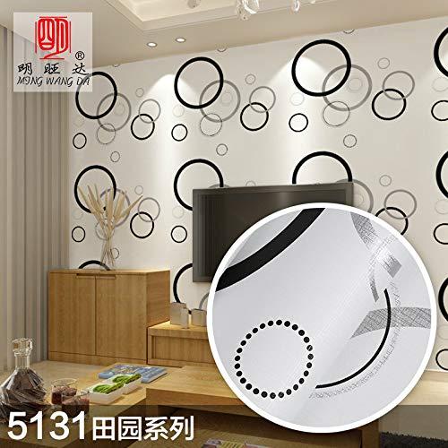 Behang zelfklevende verdikking woonkamer slaapkamer behang Europese TV achtergrond muur Sticker 45cm*10m Wallpaper-5