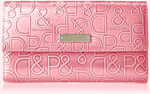 [ピンキーアンドダイアン] 財布 【ドルチェ】 エナメル ロゴ型押し ピンク