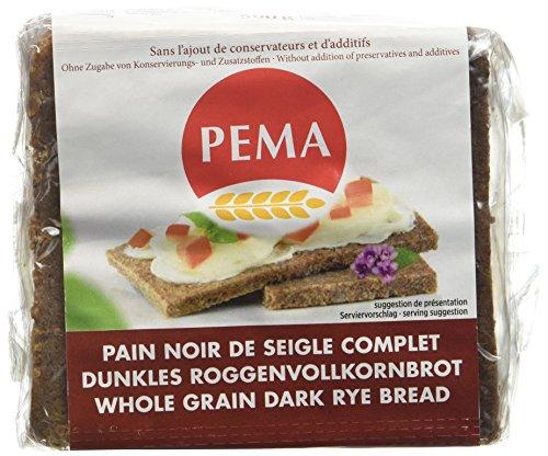 PEMA Pain Schwarzbrot Noir Seigle 500 g - Lot de 3