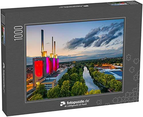 Puzzle 1000 Teile Luftbild von Hannover, Deutschland - Klassische Puzzle, 1000 / 200 / 2000 Teile, edle Motiv-Schachtel, Fotopuzzle-Kollektion 'Deutschland' (1000, 200 oder 2000 Teile)