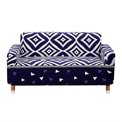 Fundas de sofá elásticas para Sala de Estar, Funda de sofá en Forma de L, Protector de sofá seccional elástico, Fundas para Muebles A13, 2 plazas