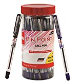 Cello Pinpoint Ballpen Jar (Pack of 25 pens in Blue and Black ink) | Lightweight ball pens for...