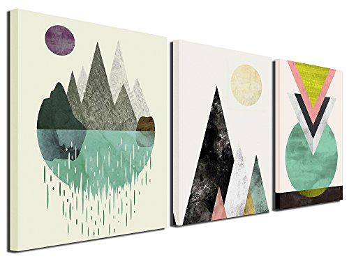 Gardenia Art - Abstract Mountain in Daytime Canvas Prints, 1...