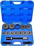 Herramienta de rodamiento de rueda I Extractor de cubo de rueda de rodamiento de rueda I Acero endurecido para herramientas I 55,5-91mm