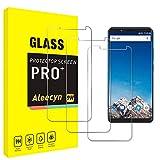 [3 unidades] Protector de pantalla de cristal blindado compatible con Vernee X1, HD, dureza 9H, resistente a arañazos y antihuellas, protector de pantalla de cristal templado 2.5D para Vernee X1