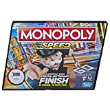 Monopoly Speed Board Game, Play in Under 10 Minutes, Fast-Playing Board Game for Ages 8 and Up, Game...