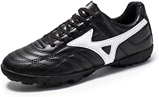 Men TF Football Shoes,Men Outdoor Turf Soccer Shoes Indoor Trainers Teens Wear-Resistant Non-Slip training Shoes cozy