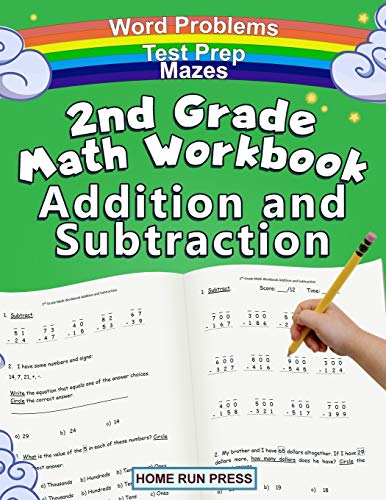 2nd Grade Math Workbook Addition and Subtraction: Second Grade Workbook,...