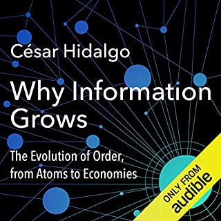 Why Information Grows audiobook cover art