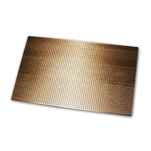 world-trading-net Platine 160x100 mm Streifenrasterplatine Kupfer