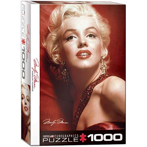 Puzzle Eurographics « Marilyn par Slam Shaw » (1000 pièces, Multicolore).