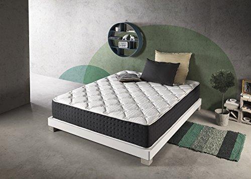 Living Sofa SIMPUR Relax | Matelas Épaisseur 30 cm Bio Green® Hypoallergénique | 160X200 | Matériaux de garnissage favorisant la Ventilation, l'élimination de l'humidité et l'hygiène de la literie.