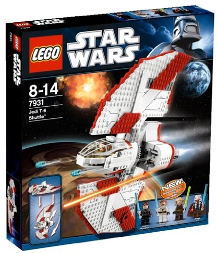 LEGO Star Wars 7931 - T-6 Jedi Shuttle