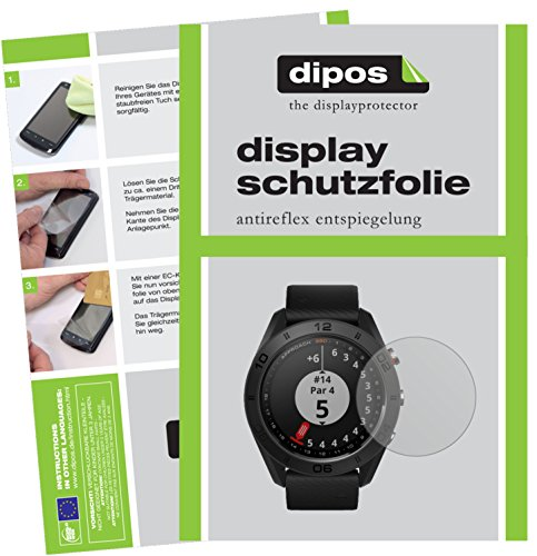 dipos I 6X Schutzfolie matt kompatibel mit Garmin Approach S60 Folie Bildschirmschutzfolie