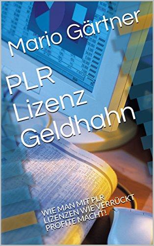 PLR Lizenz Geldhahn : WIE MAN MIT PLR LIZENZEN WIE VERRÜCKT PROFITE MACHT!