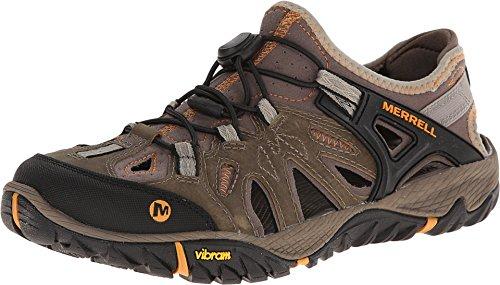 Merrell All out blaze sieve, Chaussures de Randonnée Basses homme - Marron (Brindle/B. Scotch), 42 EU