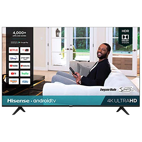 Hisense 85-Inch Class H6570G 4K Ultra HD Android Smart TV with Alexa Compatibility | 2020 model