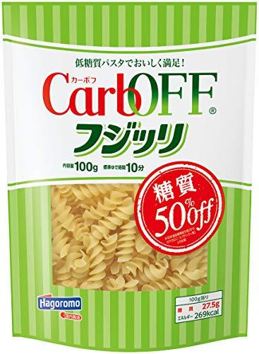 スマートマットライト はごろも CarbOFF (低糖質 マカロニタイプ) フジッリ 100g (5681) ×5個