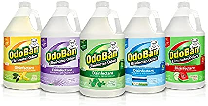OdoBan Disinfectant Odor Eliminator and All Purpose Cleaner Concentrate, 5 Gal Scent Assortment