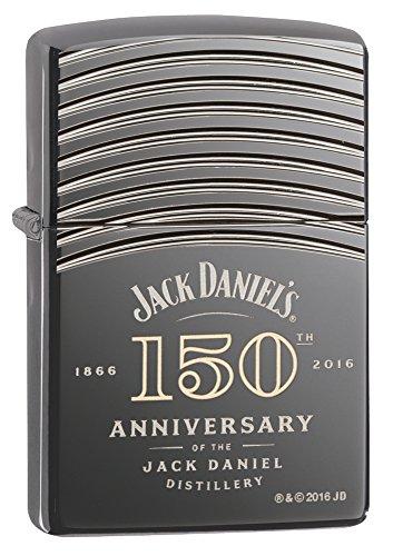 Accendino Zippo Jack Daniels Armor 150 Black Ice 29189 *08208