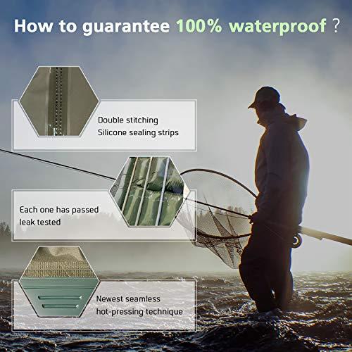 Size Chart for Mountalk Fishing Waders