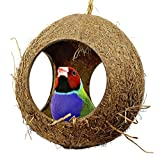 Bonka Bird Toys 2114 Three Hole Coco Hut Nest