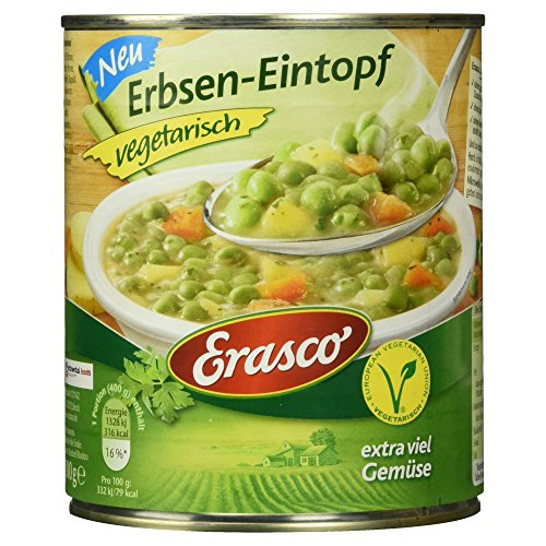 Erasco Erbsen-Eintopf vegetarisch, 800 g
