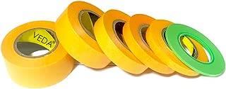 Veda® Set de 6 cinta adhesiva 2 mm/6 mm/10 mm/15 mm/18 mm/24 mm Herramientas Accesorios de construcción Hobbie