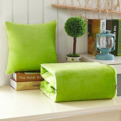 Jinyidian'Shop-oreiller COUVERTURE Les couvertures sont oreiller voiture courtepointe de coussins sont à double usage est de la climatisation et d''Oreillers Oreiller ,t,5050cm