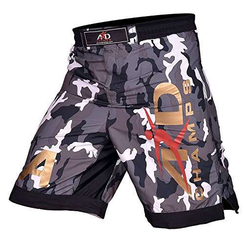 ARD Green Camo Pro MMA Fight Shorts Camouflage UFC Cage Fight Grappling Kickboxing (Xs-3xl)