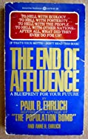 The End of Affluence 0345281497 Book Cover