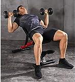 Ajustable de la cama de levantamiento de pesas de gimnasio en casa multifuncional abdominales...