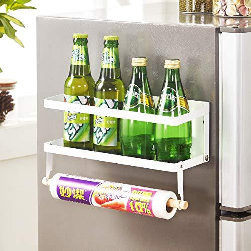 wengshilin Kruidenrek Jar Kruidenrek Organizer Rek voor Keukenplank Opslag Magnetische Koelkast (IF-1B)