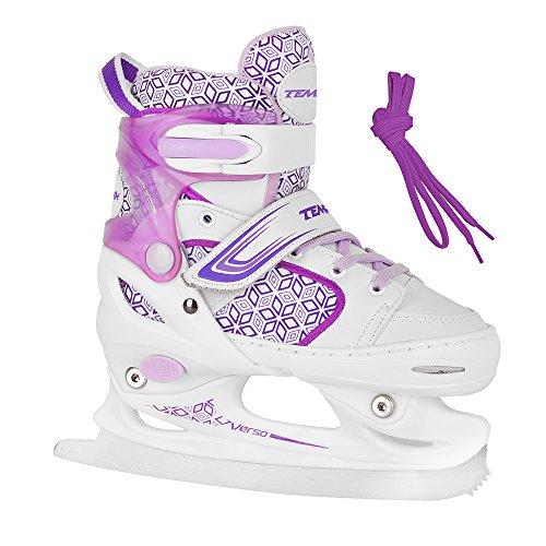 Unbekannt Schlittschuhe für Kinder RS Verso Ice Girl Purple - Größen 26-29, 30-33, 34-37 verstellbar (30-33 verstellbar)