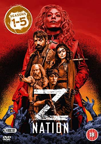 DVD20 - Z Nation: Season 1-2-3-4-5 Box Set (20 DVD)