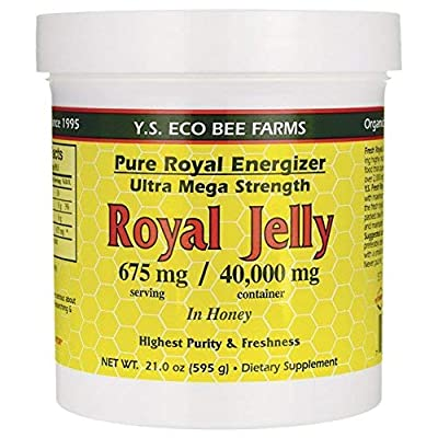 YS Royal Jelly/Honey Bee - Royal Jelly In Honey Ultra Strength, 21 oz gel
