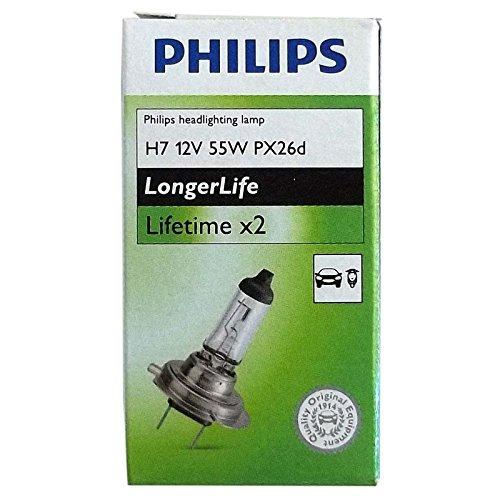 PHILIPS GLÜHBIRNEN H7 12V 55W PX26d HALOGEN FERNLICHT ABBLEDLICHT