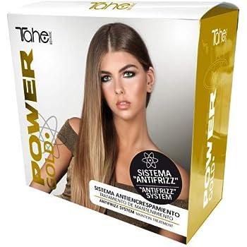 Tahe Tratamiento Capilar de Mantenimiento Power Gold Mask Pack Champú + Mascarilla + Reparador Para Todo Tipo de Cabellos con Oro Líquido y Queratina: Amazon.es: Belleza