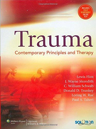 Trauma: Contemporary Principles And Therapy