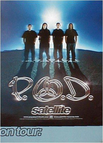 Adam Hersh Posters P.O.D. (Satellite, Original) Music Poster Print - 18' X 24'