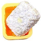 Silikon-Seifen-Formen für Seife, Gänseblümchen-Form, Blumenform, für Lotion, Bar, Badebomben,...