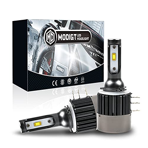 H15 LED HeadLight Kit, 110W Seoul CSP Chips 12000LM H15 LED Kit de conversión Faro de la bombilla Conversión de luz halógena Canbus 6500K 12V-36V
