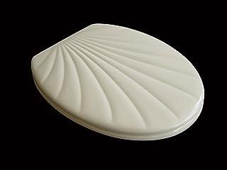 ADOB 14875 deska sedesowa w kształcie muszli, beżowa