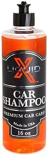 Liquid X Car Shampoo - Ultra Sudsy, pH Neutral Formula for Safe Washing (16 oz)