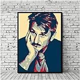 Sean Penn Poster Leinwand Malerei Bilder Poster Wandkunst